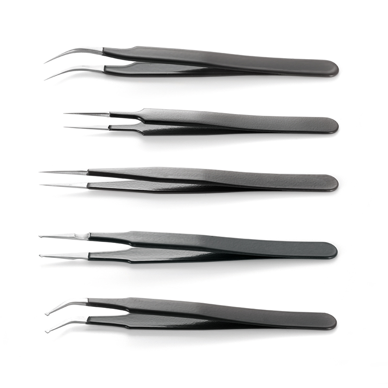 Kits of ESD Epoxy Coated Tweezers